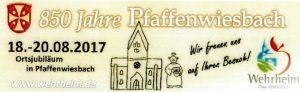 Pfaffenwiesbach feierte 850 Jahre ...